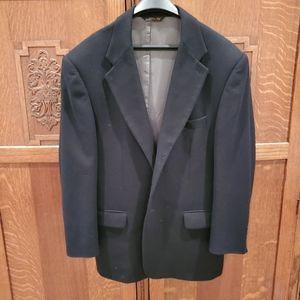 Loro Piana cashmere mens blazer black 42R